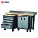 high quality work bench custom heavy duty workshop work table cheap work station storage steel metal tool cabinet