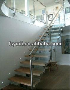 diseos de pasamanos de acero inoxidable para escaleras interiores