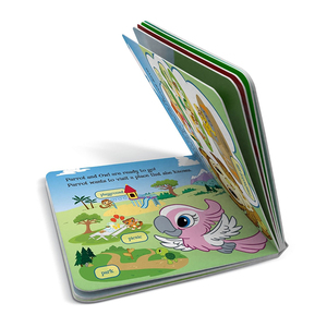 Full color prining children boardbook story book for kids