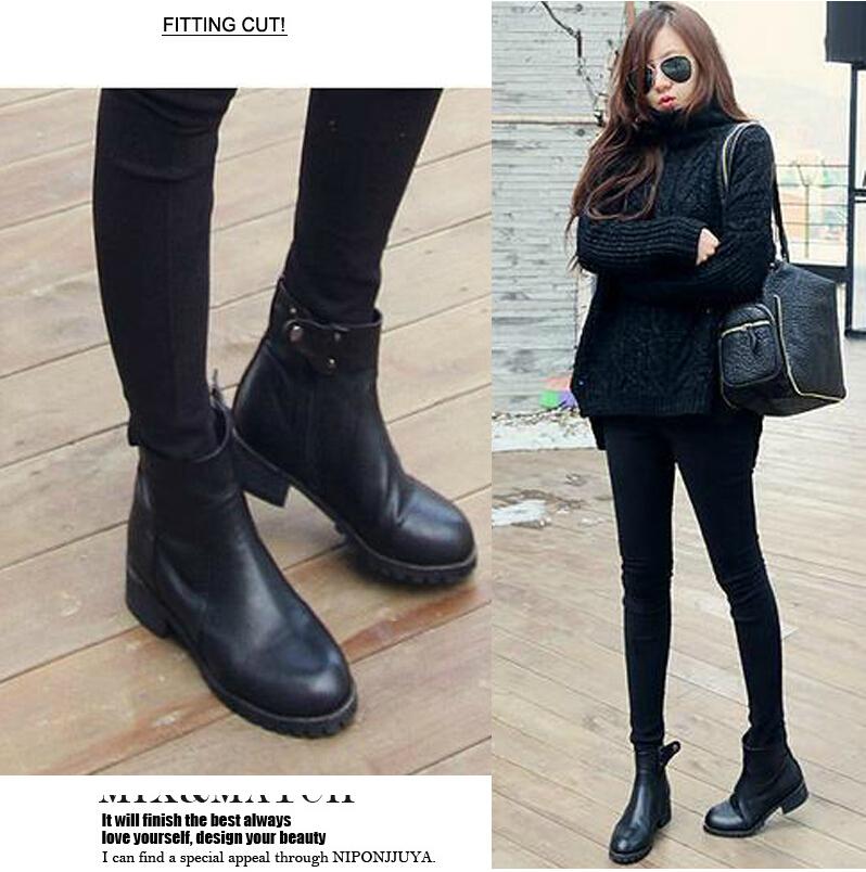 New 2015 Fashion Winter Sapatos Femininos Flat Shoes