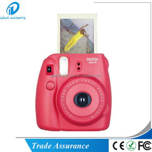 Fuji immediata film photo camera Mini8 raspberry colore
