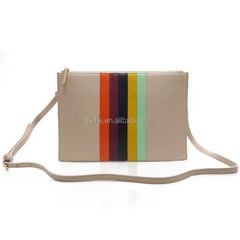 Css1476 001 Rainbow Decoration Leather Bag Mochila Wayuu Bags Women Handbags Guangzhou China