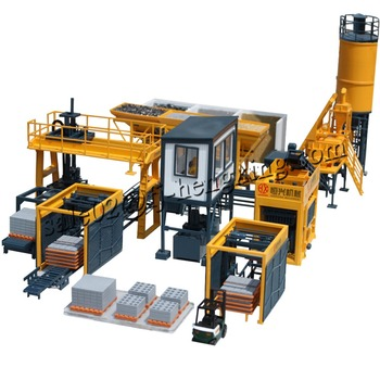 Different capacities fully Automatic Cement block making machine