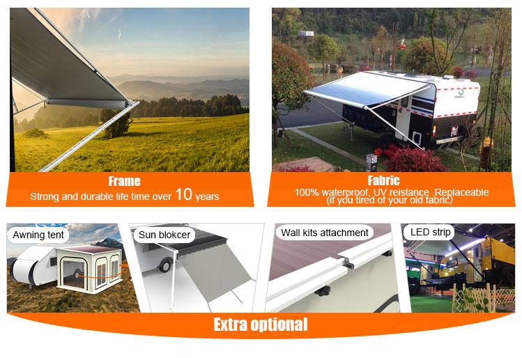 Caravan Accessories Camper Roll Up Trailer Awning - Buy Roll Up Trailer  Awning,Caravan Roll Up Awning,Caravan Accessories Product on Alibaba com