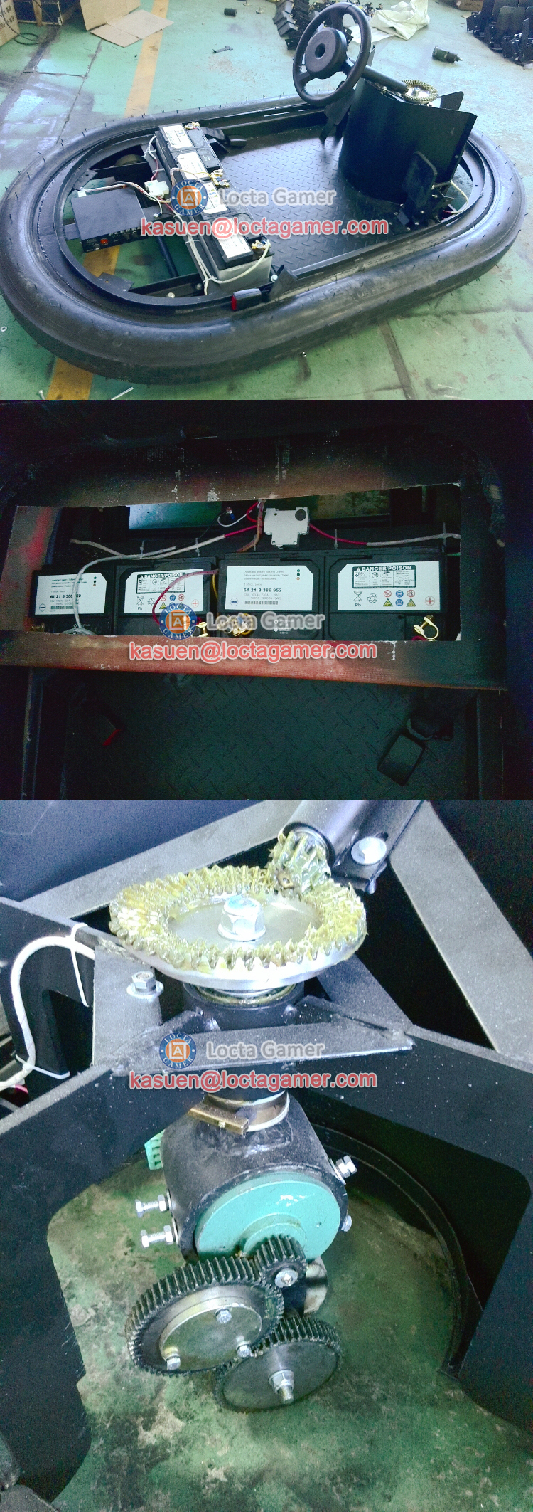 Fibra de vidro Zhongshan venda quente parque de diversões monta amortecedor do carro bateria de carro elétrico amarelo para adultos dos miúdos