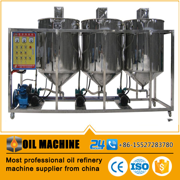 Stainless steel coconut oil organic virgin refined machine hemp seed refining equipment