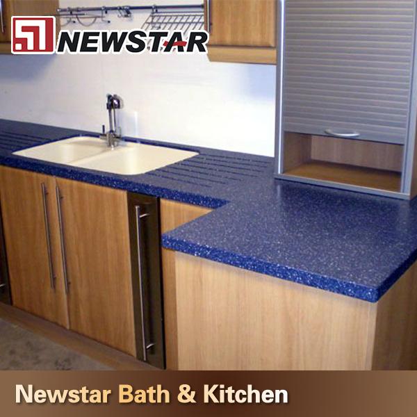 Newstar Hohe Qualität Beliebt Küche Design Dunkelblau Quarz ...