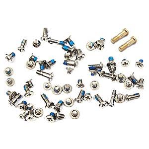 Bislinks® Full Screw Set Silver/White + Gold Bottom Pentalobe Screws Part for iPhone 6