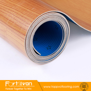 Factory Price of PVC Vinyl Floor with wooden design