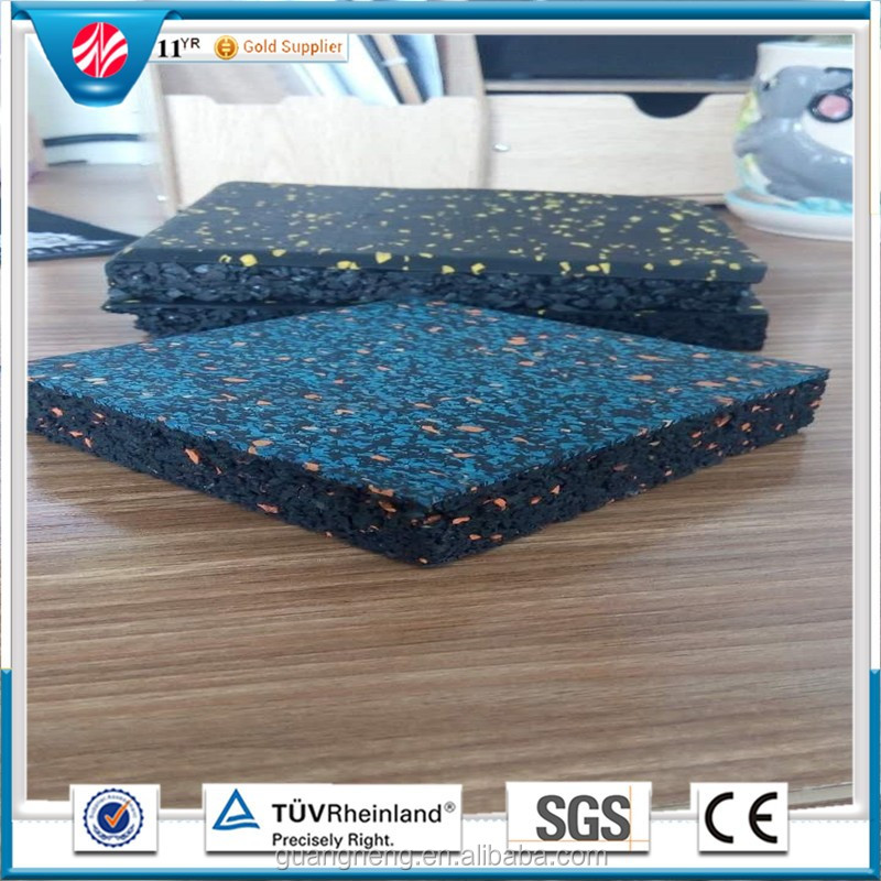 Used Gym Floor Mat Rubber Equipment Outdoor Playground Mats