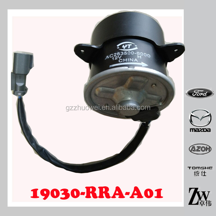 19030-RRA-A01 radiator fan motor,condenser fan motor for Hon(daa) CIVIC 2.0L L4 2006-2011