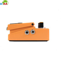OEM design high-end cnc milling distortion effect pedal for electric guitar