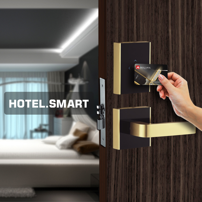 English Spanish Hotel Card Lock Management Software, Hotel Keyless RFID Card Door Locks, Hotel Lock PCB