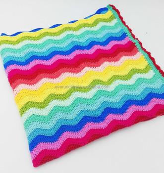 Zero Defect 7gg 100 Acryl Gratis Patronen Kleurrijke Regenboog Mode