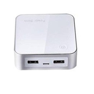 Long time stand by dual USB output ports design your own pattern dual usb power bank 10000mah for MP3/MP4/game player