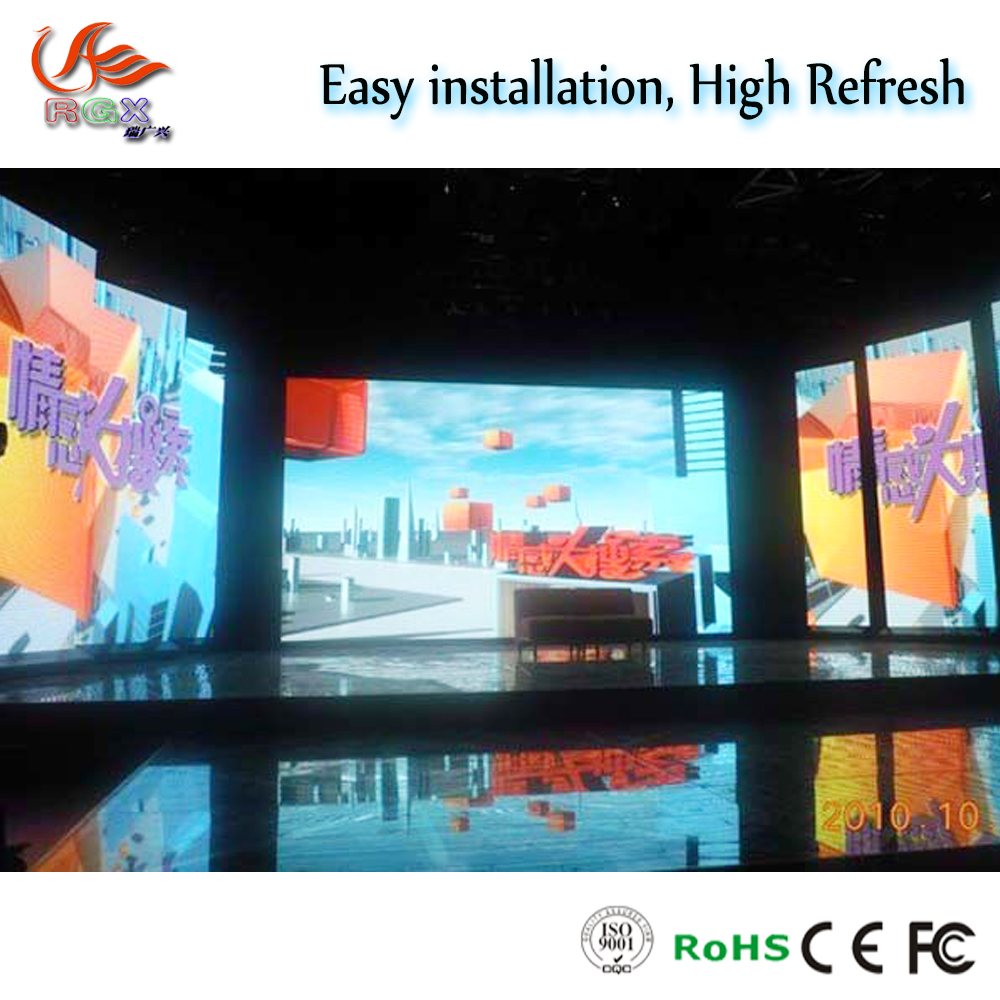 RGX ali express USA top selling product P6 HD indoor big rental led screen mobile led video wall