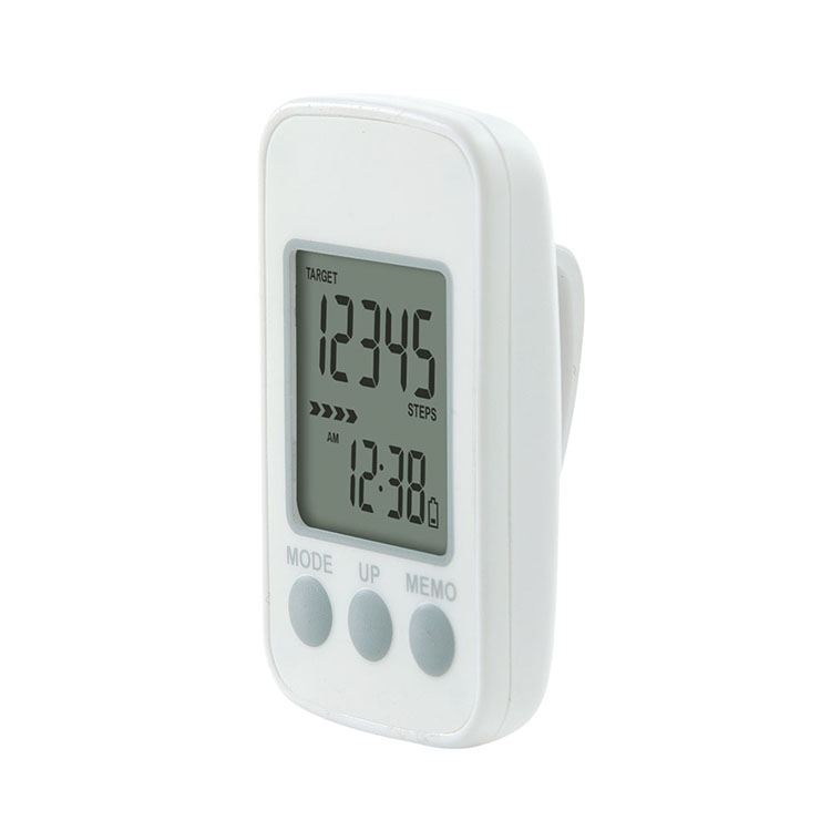 electronic fitness step meter counter pedometer