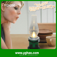 YGH367 Multifunctional LED Rechargeable battery operated lamps with shade