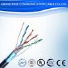 best price lan cable 4pr ftp cat5e 0.4mm 24awg bare copper