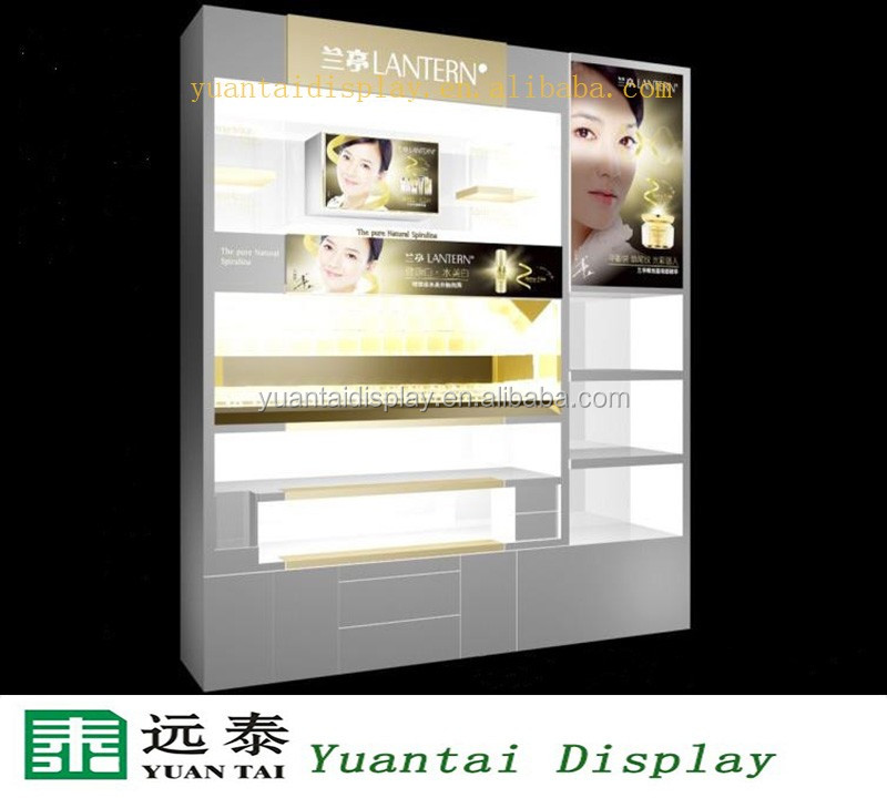 Commercial perfume storage cabinet cosmetic shop display ...