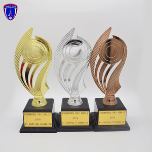 promotional wholesale custom Vietnam style metal trophy cup medals and sport trophy