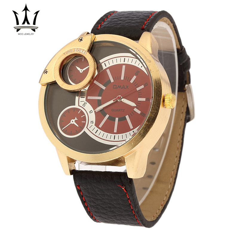 Montre Enfant Men Watches 2015 Three Six-pin Surface Copper Ring Table Quartz Wrist Watches For Men Relojes Hombre sb015