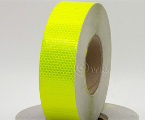 Pet Custom Adhesive Sticker Roll 5Cm*50M Honeycomb Retro Film Reflective Tape