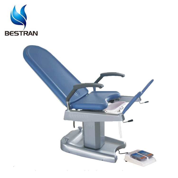 BT-GC002A with Stainless steel Basin Hospital Used Electric Linak Motorized Gyn Chair Gynecological Exam Couch Price