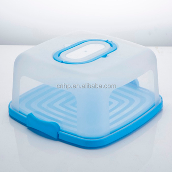 Food Server Container Keeps Sliced Cake, Cheese and Other Finger Foods Cool and Fresh