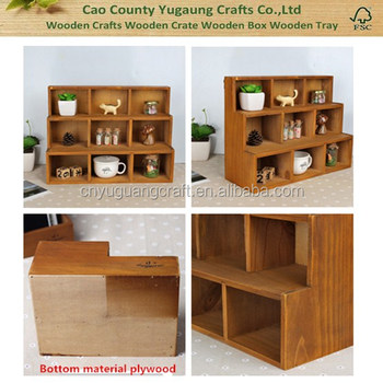 Wooden Wall Storage Boxes