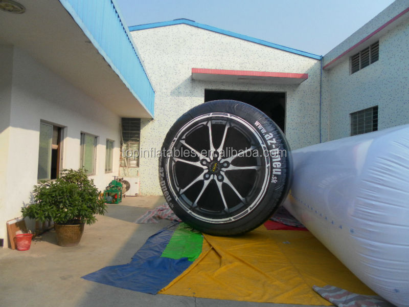 TOP inflatable tyre for advertising !