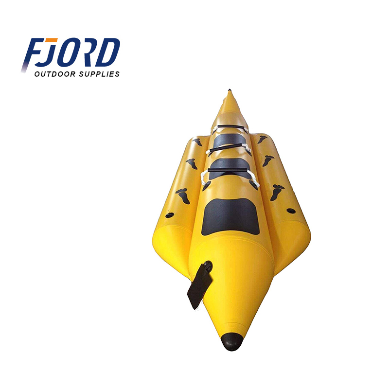 FJORD AK Sport High Quality PVC Inflatable Fishing <strong>Boat</strong> Banana <strong>Boat</strong>