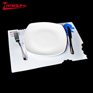 Custom Scanning Printing Silicone heating Placemat Table Silicone Meal Mat