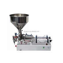 Table Top Liquid Soap Filling Machine Honey Bottling Filling Machine