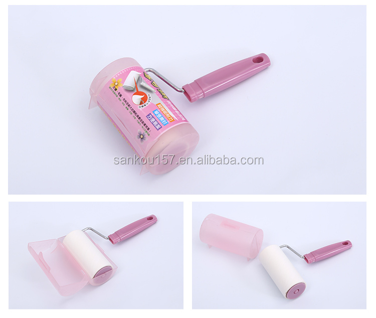 new arrival custom printing color cloths cleaning sticky lint roller bulk