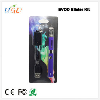 China wholesale E cigarette Evod/Evod MT3 starter kit e-cigarette evod electronic cigarette