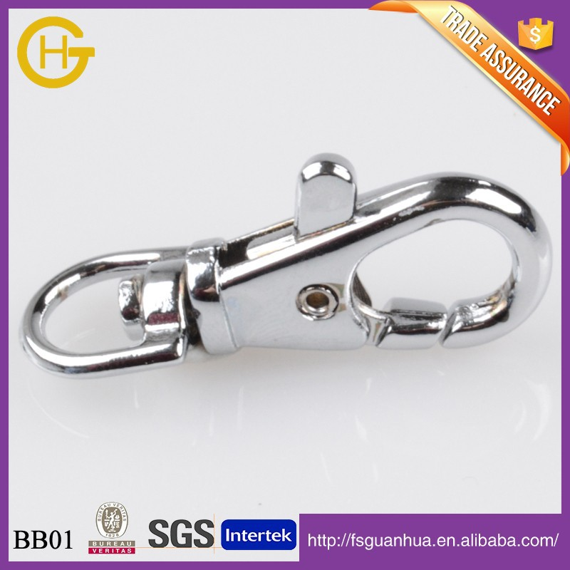For Bag 2015 Shiny Silver 100% Metal Alloy Snap <strong>Hook</strong>