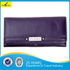 Hot Selling Popular Genuine Leather RFID Blocking Lady Wallet