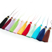 Rayon handmade tassels for jewelry making earrings tassel