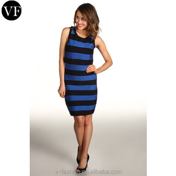 944c9e531a custom tank top dress sublimation bodycon dress stripe sleeveless sweater womens  dresses