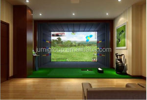 3D Indoor Screen Golf Simulator