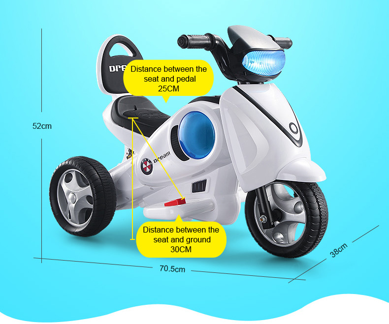 New favorite three wheel kids motorbike with cheap price
