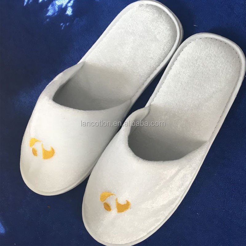 China salon spa hotel slippers disposable close toe