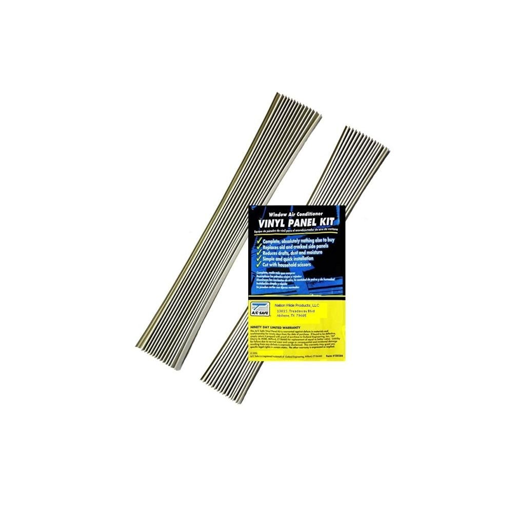 Air Conditioning Window Unit Replacement Vinyl Accordian Side Panel Kit New