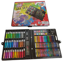 JF88878 150 STKS 150 stuks hout case box coloring kid tekening art set <span class=keywords><strong>briefpapier</strong></span> <span class=keywords><strong>product</strong></span>