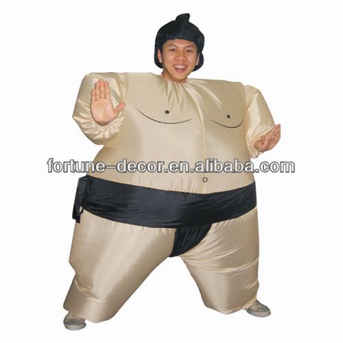 Inflatable Sumo Party Costume inflatable sumo wrestler costume