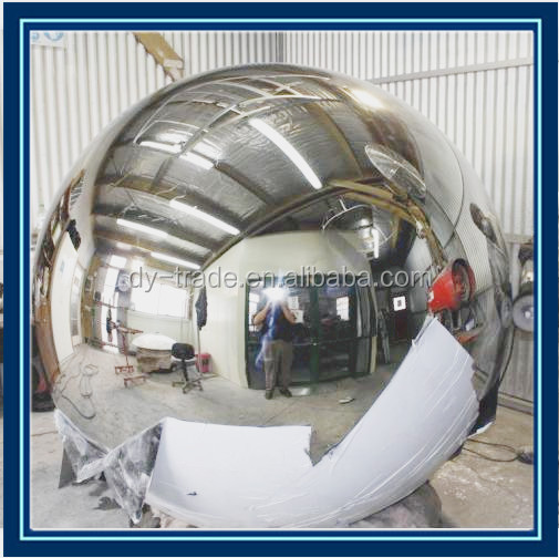 180 Degree Half Dome Mirrors to Monitor Production Areas