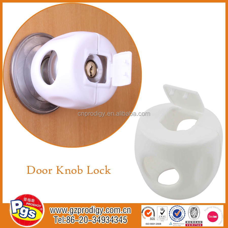 Cylinder Lock/door Knob Cover/child Safety Plastic Lock - Buy ...