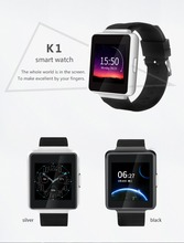Alibaba wholesale k1 android 5.1 4 cores smart watch 512MB RAM+8GB ROM with 3G network,android smartphone watch