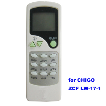 Air Conditioner Remote Control Manual For Chigao Zcf Lw 17 1 Made